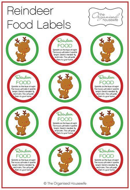 printable reindeer food labels 17 best ideas about reindeer food on pinterest magic