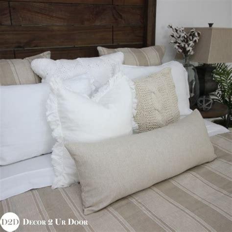 tan and white bedding tan white farmhouse stripe custom designer duvet cover