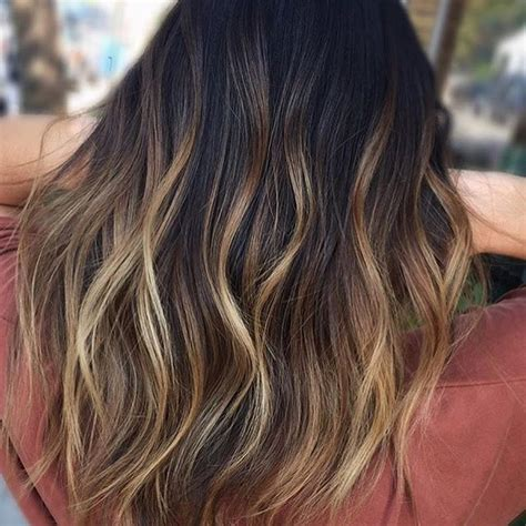 ombre hair color for brunettes 643 best ombr 233 balayage highlights images on pinterest