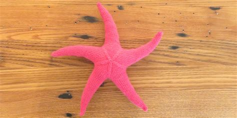 knitted starfish pattern just crafty enough project seamless knit starfish
