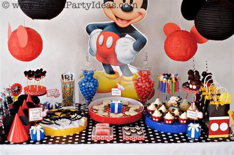Mickey Mouse Birthday Decoration Ideas by Southern Blue Celebrations Mickey Mouse Ideas