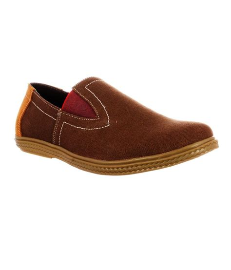 moladz brown canvas casual shoes price in india buy