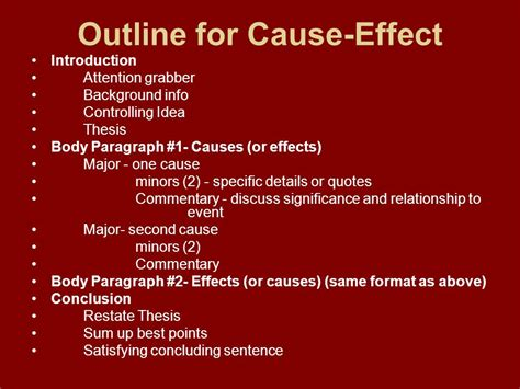 Cause And Effect Essay On Cause And Effect A Cause And Effect Essay May Focus On