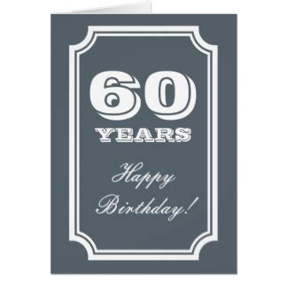 Birthday Cards For 60 Year For 60 Year Old Woman Gifts On Zazzle