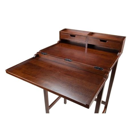 Standing Desk In Antique Walnut 94628 Antique Standing Desk