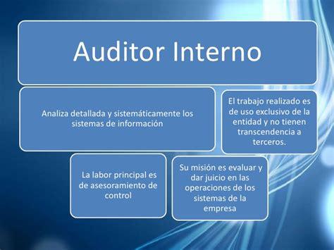independencia de auditores internos y externos