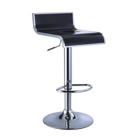 Powell Bar Stool With Adjustable Height by Powell 2 Thin Seat Adjustable Height Bar Stool