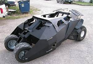 kart gestell batmobile tumbler go kart for squires technabob