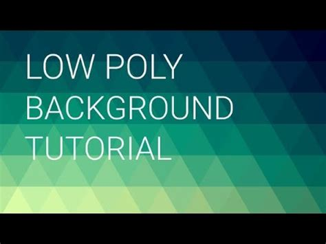inkscape tutorial remove background tutorial low poly background in inkscape youtube