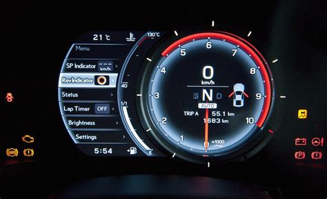 how cars run 1997 lexus lx instrument cluster car and driver