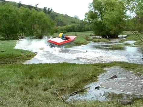 jet boat crash jump exits river and returns youtube - Mini Jet Boat Crash