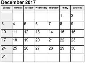 Calendar December 2017 Excel December 2017 Calendar Excel Calendar Template Letter