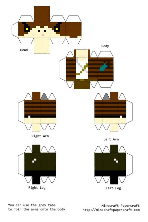 Minecraft Papercraft New - paper craft new 18 papercraft minecraft printables