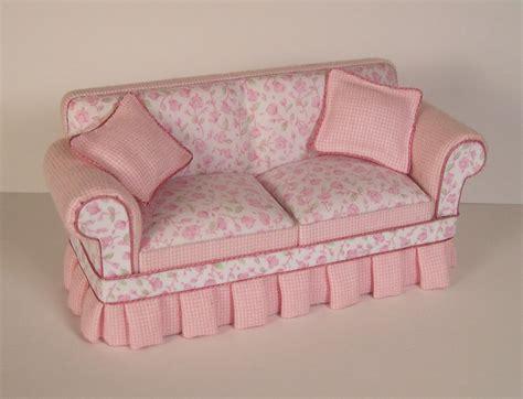 shabby chic couch dollhouse addiction