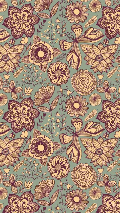 wallpaper iphone 5 hd vintage vintage pattern the iphone wallpapers