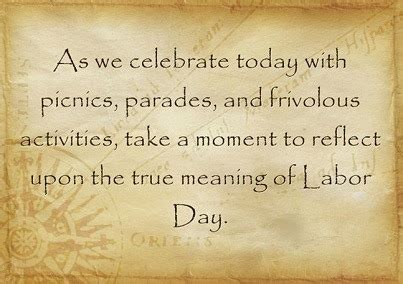 real meaning of day the true meaning of labor day backdoor survival