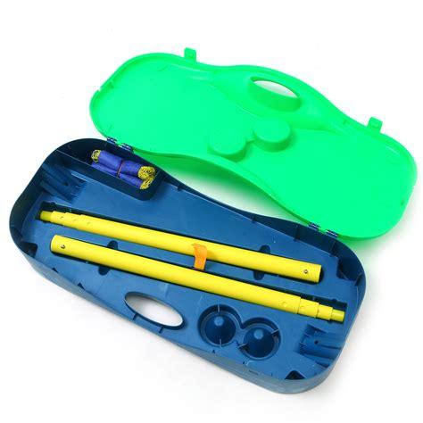 Kimmy Set 3in1 Blue 44 3 in 1 outdoor sport badminton tennis net portable stand battledore set alex nld