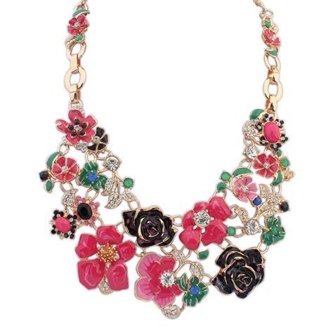 aliexpress buy big flower necklaces flowers