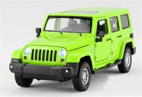 toy jeep for kids kids green red yellow 1 32 diecast jeep wrangler toy