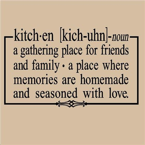 definition of kitchen kitchen noun definition 12 5x21 vinyl by vinyllettering on