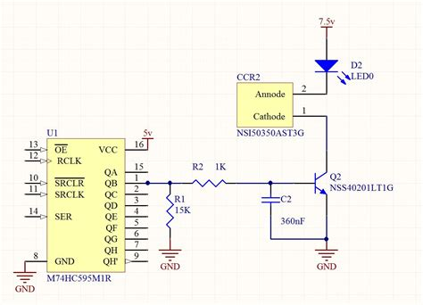 pull up resistor relay design how do i calculate the required value for a pull resistor in a pwm circuit