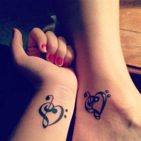 couples music tattoos 101 matching ideas for