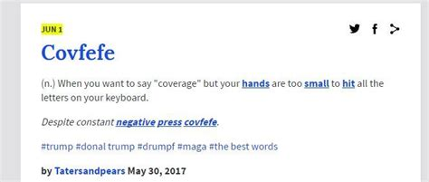 sean spicer urban dictionary quot covfefe quot internet s best guesses on meaning behind trump