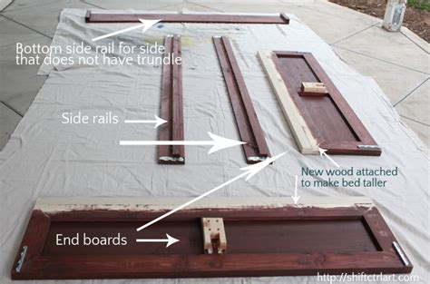 Flaxa Bed Hack by How To Build A Queen Bed With Twin Trundle Ikea Hack