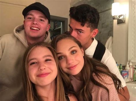 mackenzie ziegler boyfriend maddie ziegler isn t afraid to show some pda with her