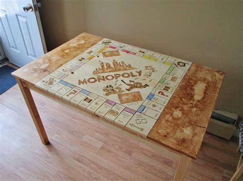 how to make monopoly table craftspiration handimania