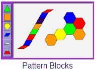 pattern blocks math playground first grade shape birch grove primary school