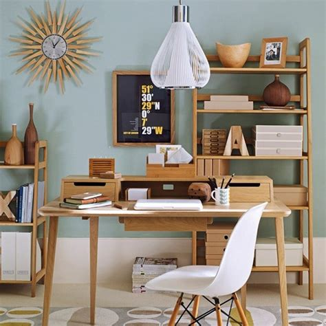 home office interiors at least surround yourself in mid century style inmod style