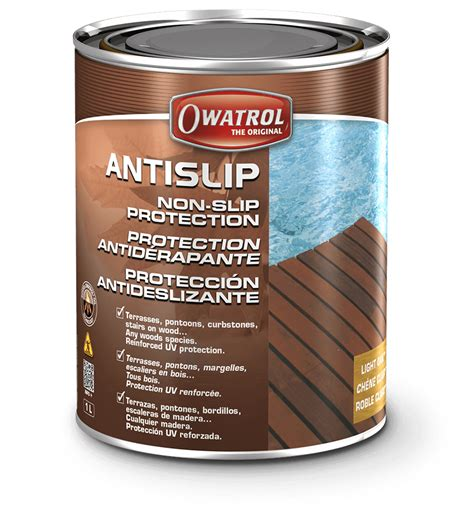 antislip anti slip paint  wood owatrol usa