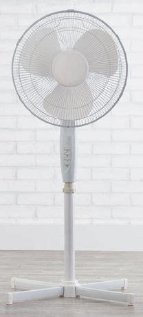 mainstays 16 inch pedestal fan mainstays 16 quot stand fan walmart canada