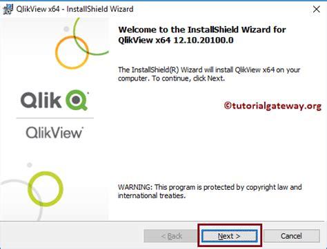 qlikview button tutorial install qlikview