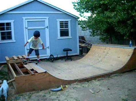 powell skating backyard halfpipe