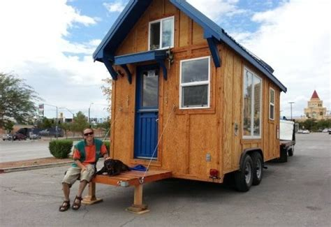 tiny house for sale tiny house talk 136 sq ft used molecule tiny house for