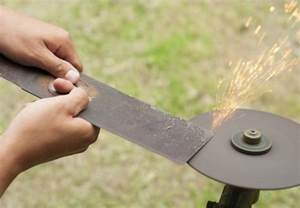 how to sharpen grinder blades how to sharpen lawn mower blades bob vila