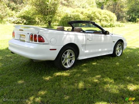 1998 Ford Mustang Gt by 1998 Ultra White Ford Mustang Gt Convertible 65412196
