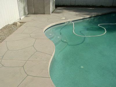 acrylic flagstone pool deck overlays  advanced deck