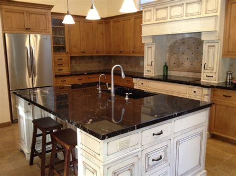 granite countertop traditional kitchen by