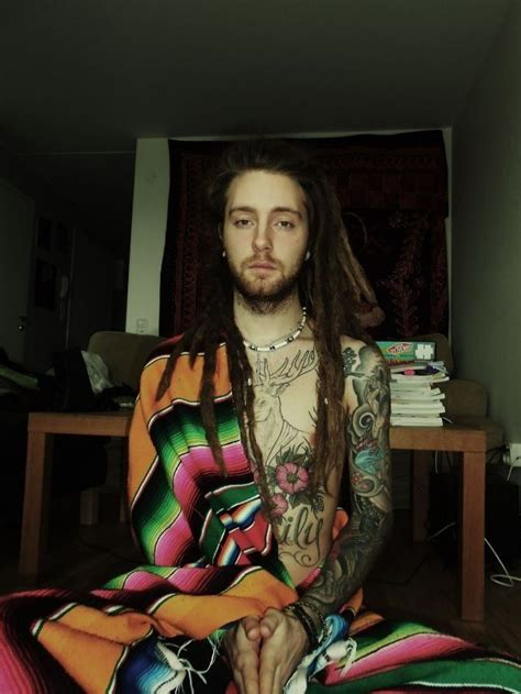 dreaded hippie boy with tattoos please marry me