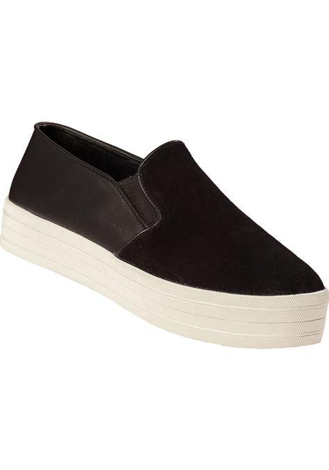 steve madden buhba slip on sneaker black suede in black lyst