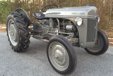 restored 1944 ford 2n tractor bring a trailer