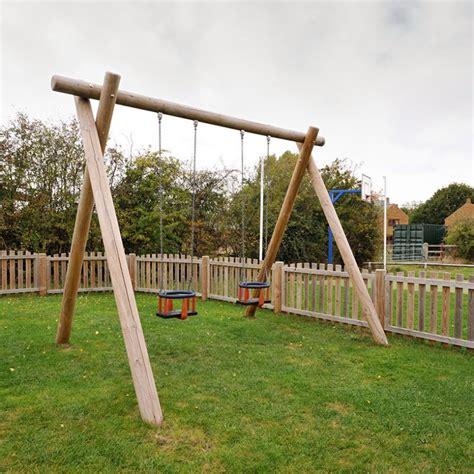 cradle swing uk cradle swings single or double bays playground equipment