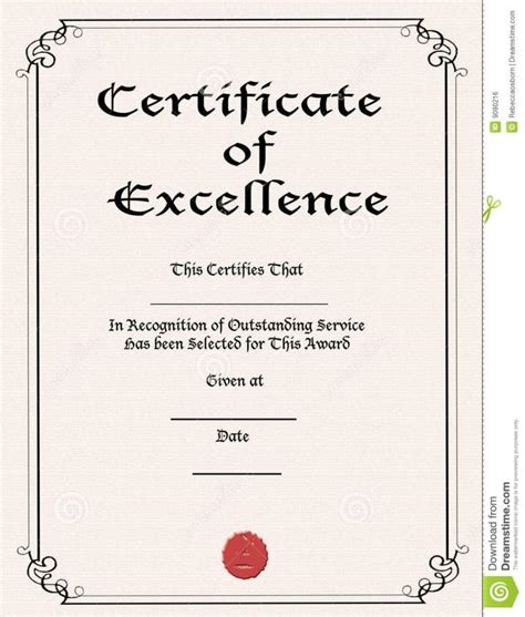 html printable certificate certificate of excellence template out of darkness