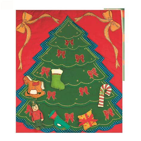 christmas tree fabric advent calendar by jolly fine