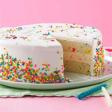 Make Birthday Cake by Birthday Cake Recipe Taste Of Home