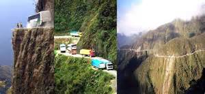 North yungas road bolivia road of death