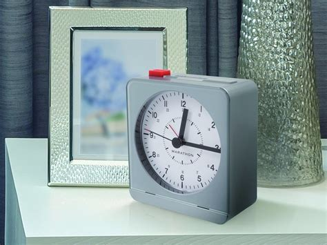 marathon analog desk alarm clock the best alarm clocks you can buy business insider